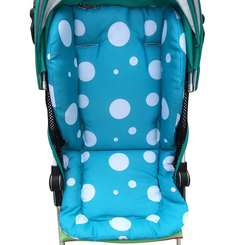 Baby Seat Cushion for Stroller Cotton Anti-Slip Stroller Accessories Stroller Kids Chair Car Pad Autumn Baby Stroller Mat