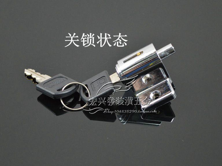 Limiting door window lock doors and windows shift child safety lock sliding plastic steel window thief lock bolt lock(China (Mainland))