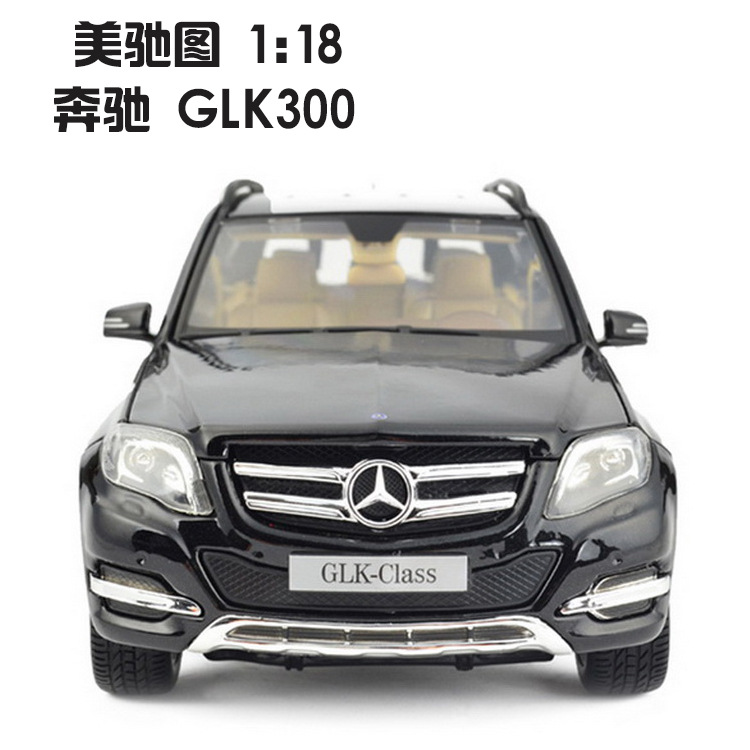 Maisto 1:18 genuine alloy models Mercedes Benz GLK300 SUV car model Simulation Car Diecast Models Collection High Quality Gift(China (Mainland))