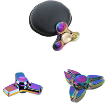 Buy Fidget Spinner AIBOULLY Hand Spinner High Speed R188 Bearing Titanium Alloy Toys Anxiety Stress Adults Kid Metal finger spinners for $4.36 in AliExpress store