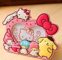 N2 2013 New sanrio 50th anniversary hello kitty Melody PURIN dog Onegai Twins photo frame