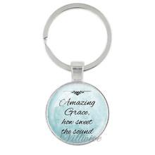 VILLWICE new thời trang kinh thánh verse dây đeo chìa khóa thủy tinh làm bằng tay vòng chìa khóa thánh quote đức tin đồ trang sức phụ nữ người đàn ông christian quà tặng(China)
