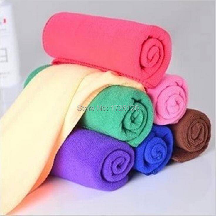 product 1X 30*60CM Magic Absorbent Microfiber Bath Beach Towel Drying Washcloth Swimwear Shower Travel Gym Camping Sport Free Ship