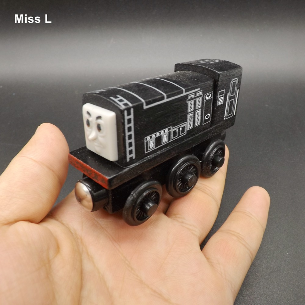 Model Car Wooden Toy Engine Train Mind Game Kid Gift(China (Mainland))