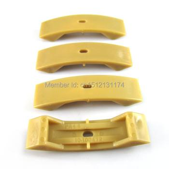 4 Pcs Camshaft Timing Chain Tensioner Shoe Pad for VW Golf Passat case for Audi Skoda 1.8T, 2.7, 2.7T, 2.4, 3.2, 4.2 V8