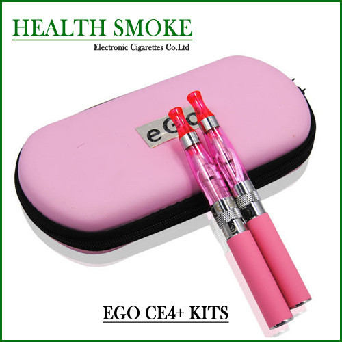 10pcs Double EGO CE4+ Electronic Cigarette Kits 1.6ml CE4+ Atomizer 650,900,1100mah EGO-T Battery Zipper Case Free Shipping<br><br>Aliexpress