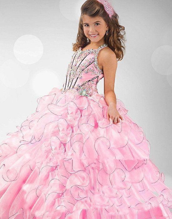 little girl party dresses pink discount evening dresses