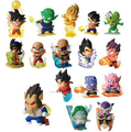 NEW hot 16pcs set 5cm Q version Dragon Ball z Frieza Son Goku action figure toys