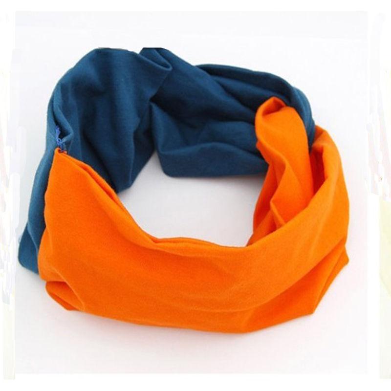 Colorful Women Headbands Cotton Turban Twist Knot Head Wrap Headband Twisted Knotted(China (Mainland))