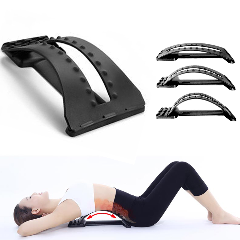 Back Massage Magic Stretcher Fitness Equipment Stretch Relax Mate Stretcher Lumbar Support Spine Pain Relief Chiropractic(China (Mainland))