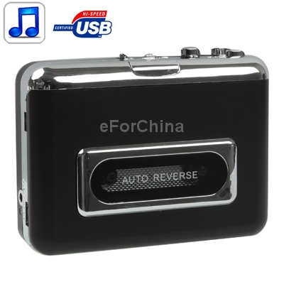 New High Quality Ezcap 230 Cassette Tape to MP3 Converter Capture Audio Music Player(China (Mainland))