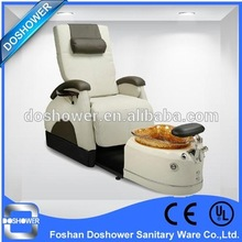 Doshower pedicure furniture of luxury pedicure spa massage chair for nail salon with salon sofa(China (Mainland))