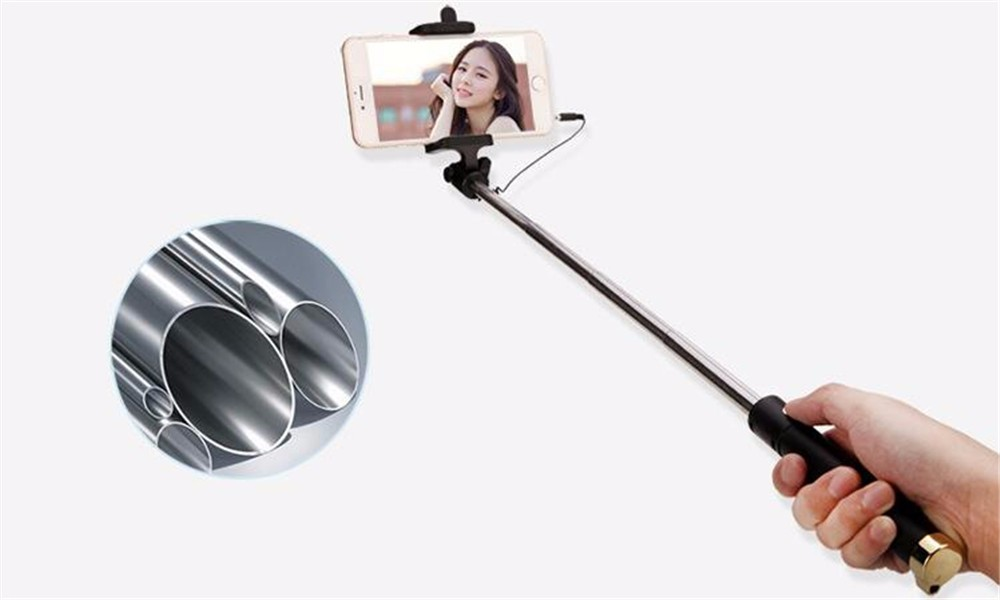 image for Mini Universal Luxury Selfie Stick Monopod Tripod For Iphone Samsung A