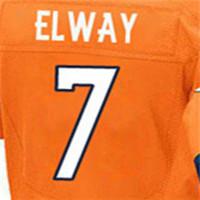 Men's Elite Jersey 100% Stitched #7 John #10 Emmanuel #18 Peyton #58 Von #88 Demaryius #94 DeMarcus Elite Orange White Nacy B(China (Mainland))