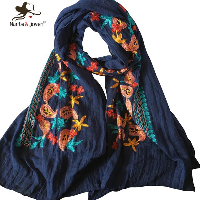 Новинка мори девушка цветочные шарфы и обертывания японский этническом стиле вышитые ...
