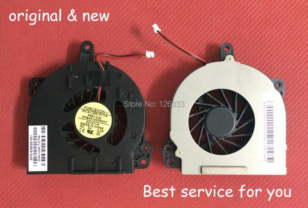 Brand New CPU Fan cpu cooler laptop fan For HP 500 510 520 530 C700 P/N:DFB451005M20T F687-CW 2 pin DC05V 0.5A(China (Mainland))