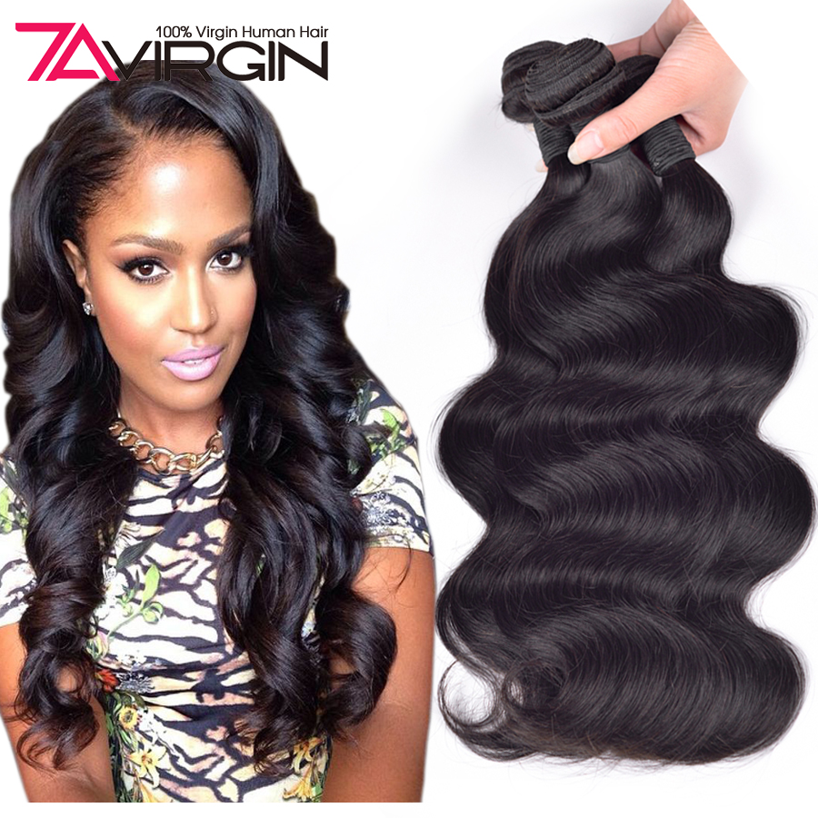 Unprocessed Virgin Human Hair Bundles Brazilian Body Wave Hair 4pcs/lot Mink Brazilian Hair Brazilian Virgin Hair Body Wave Deal