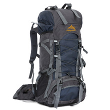60 L Large Professional Mountain Backpack Brand Outdoor Nylon Sport Rucksack Hiking Cycling Camping Travel Bag mochila XA745H