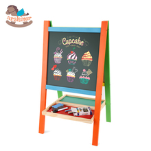 Arshiner Kids Drawing Toy Children Drawing Board Both Sides Black And White Multipurpose Study Writing And Drawing Blackboard(China (Mainland))