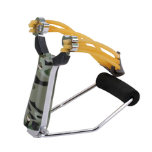 Outdoor Hunting Slingshot Powerful Sling Shot Folding Wrist Adult Camouflage Sling Shot Bow Catapult Hunt Tool Accessories(China (Mainland))