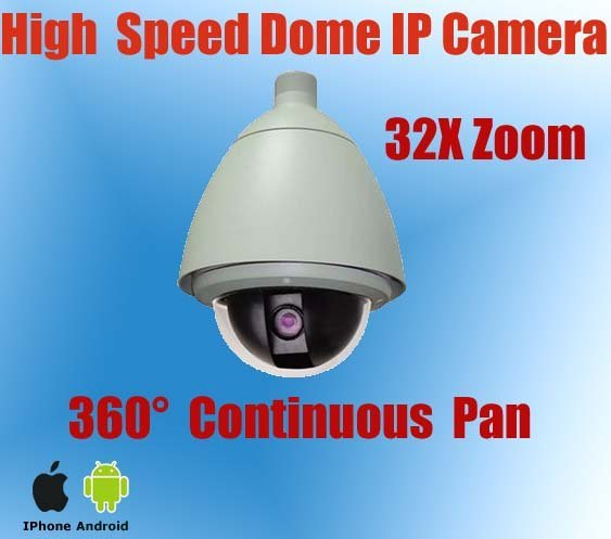 6'' Weatherproof IP Security Dome Camera with CMS software,Onvif protocol,3.6-97.2 mm lens,Cameras PTZ,KE-NP6900