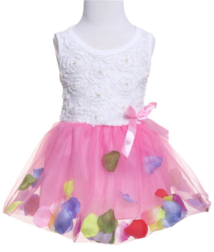 Baby girl 2016 kids flower christmas dress girl dress girls clothes lace dress children dresses girls princess baby summer style(China (Mainland))