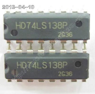 free shipping*(10)Line 74LS138 decoder / demultiplexer / DIP-16(China (Mainland))