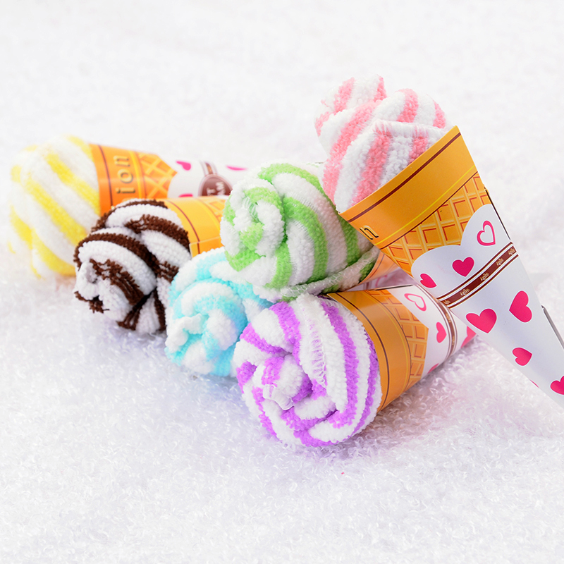 Lot Of 30 Ice Cream Towel Personalized Wedding Gift Thank You Guest Favor Wholesale Item Gear Stuff Accessories Supplies Product(China (Mainland))