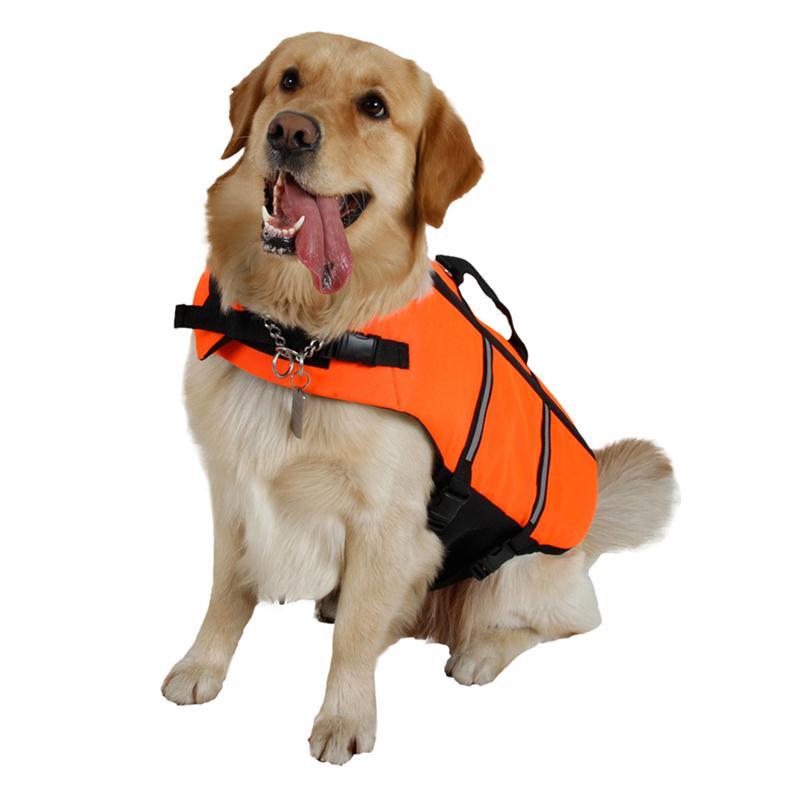 Ripstop Dog Life Jacket Durable Buoyancy Dog Life Preserver for Doggy Puppy Dog Jacket(China (Mainland))