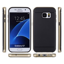 For Samsung Galaxy S7 edge Luxury Armor Back Case for Galaxy S7 Phone Accessories + Hard Hybrid Shockproof Dual Layer Cover