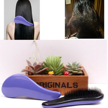 NEW 2016 Comfortable Magic Handle Tangle Detangling Comb Shower Hair Brush Salon Styling Tamer BO