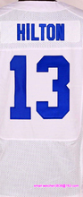 Men's #1 Pat McAfee #12 Andrew Luck #13 Hilton #23 Frank Goreed #93 Erik Walden elite jerseys, Blue White(China (Mainland))