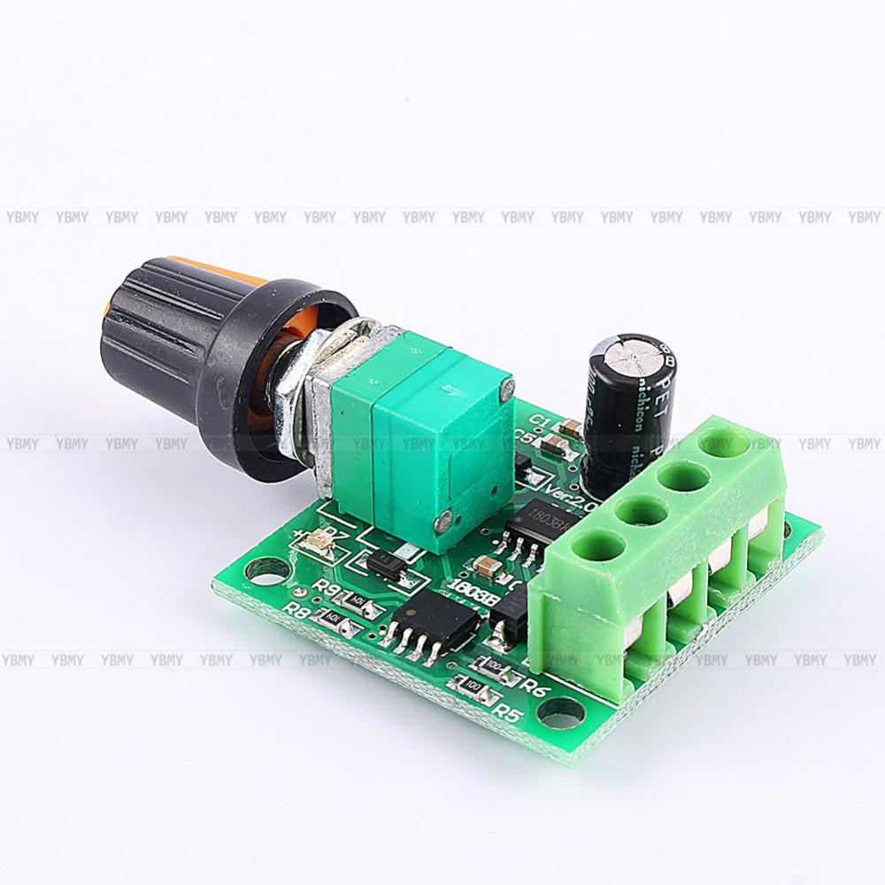 Promotion!DC New 1.8V 3V 5V 6V 12V 2A Low Voltage Motor Speed Controller PWM 1803B(China (Mainland))