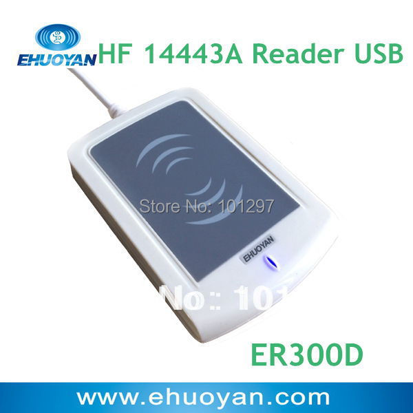 EHUOYAN/13.56Mhz  ISO 14443A Rfid reader Plug and Play USB ER300D Linux<br><br>Aliexpress