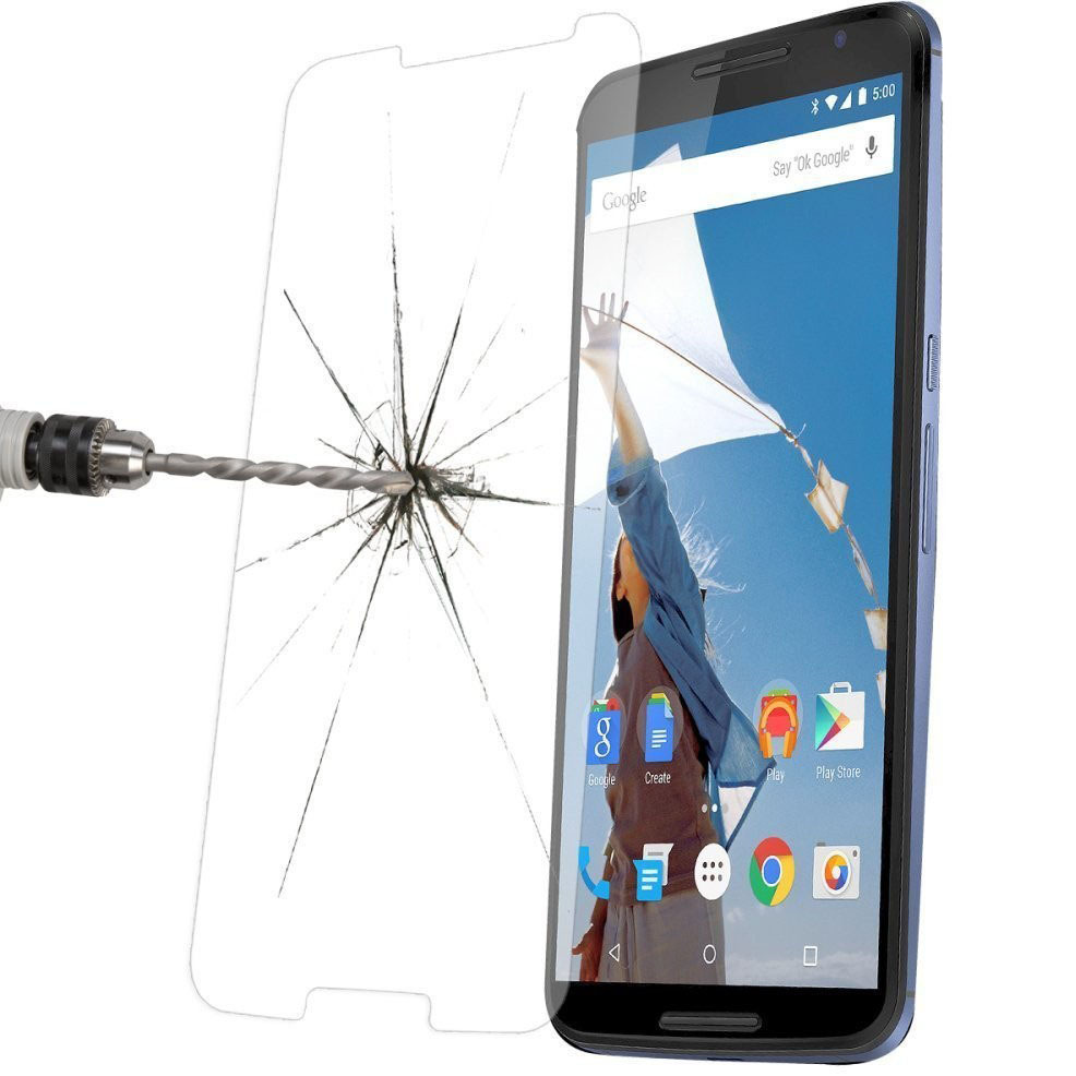 New arrival!100PCS for Nexus6 Explosion Proof Front Premium Tempered Glass For Goole Nexus 6 Tempered Protector Film+retail box(China (Mainland))
