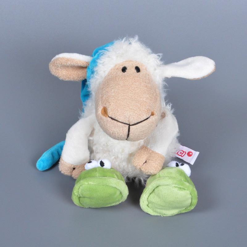 10pcs/lot NICI sheep plush toy soft sheep goat ram doll stuffed animal toys Lovely birthday gift free shipping<br><br>Aliexpress