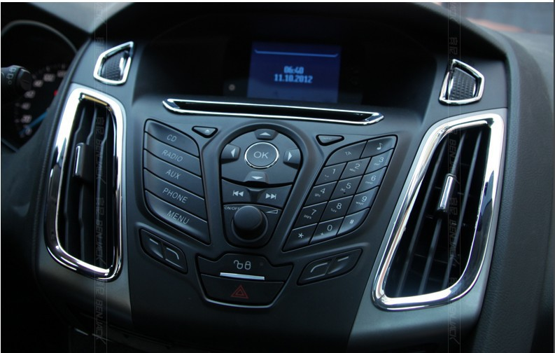 2013 hot ford focus 2012 trim accessories stainless steel interior outlet dec. Cars Review. Best American Auto & Cars Review