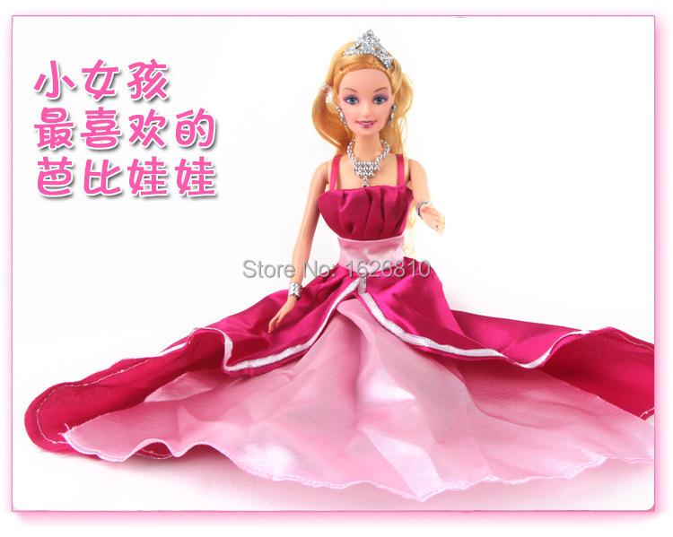 1pcs/lot Original edition The classic version of the new Bobbi doll baby toys Fashion princess baby toys with original box(China (Mainland))