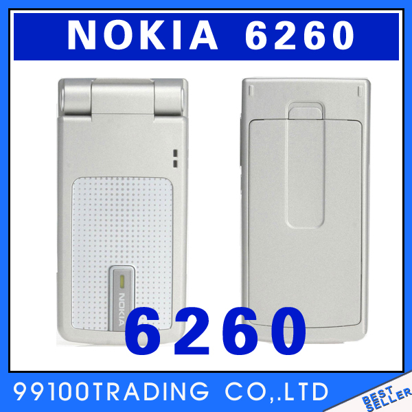 Original Nokia 6260 Bluetooth Mp3 Java Mobile Phone Free Shipping Refurbished(China (Mainland))
