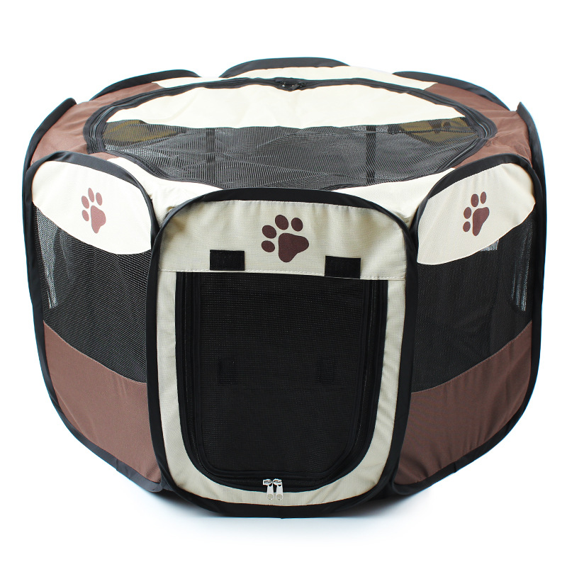 Pet Bed Pet Play Pen Puppy Rabbit Cage, Large,octagonal collapsible for Big Pet(China (Mainland))