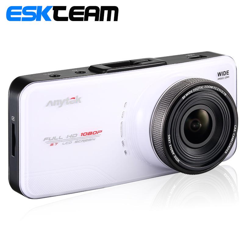 ESK Team Anytek AT66A Car DVRs Vehicle Car Camera DVR Full HD WDR Video Recorder Registrator G-Sensor Night Vision Car Camcorder(China (Mainland))