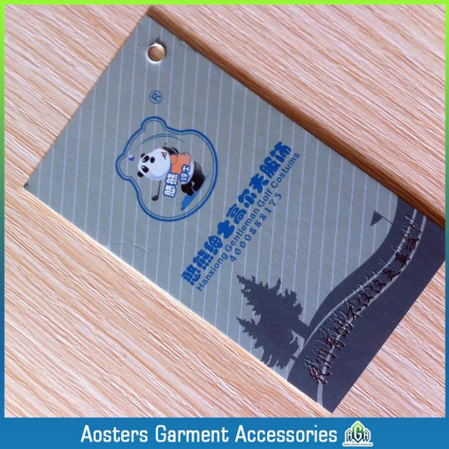 Free shipping OEM wholesale hang tags customized plastic hang tag personalized clothing tags /custom clothing hang tags $59lot(China (Mainland))