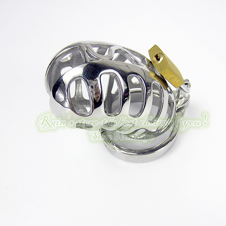 85mm Hollow Out Stainless Steel Male Chastity Device Special Chastity Belt Penis Sleeve Sex Toys Sex Products Metal Adult Game(China (Mainland))