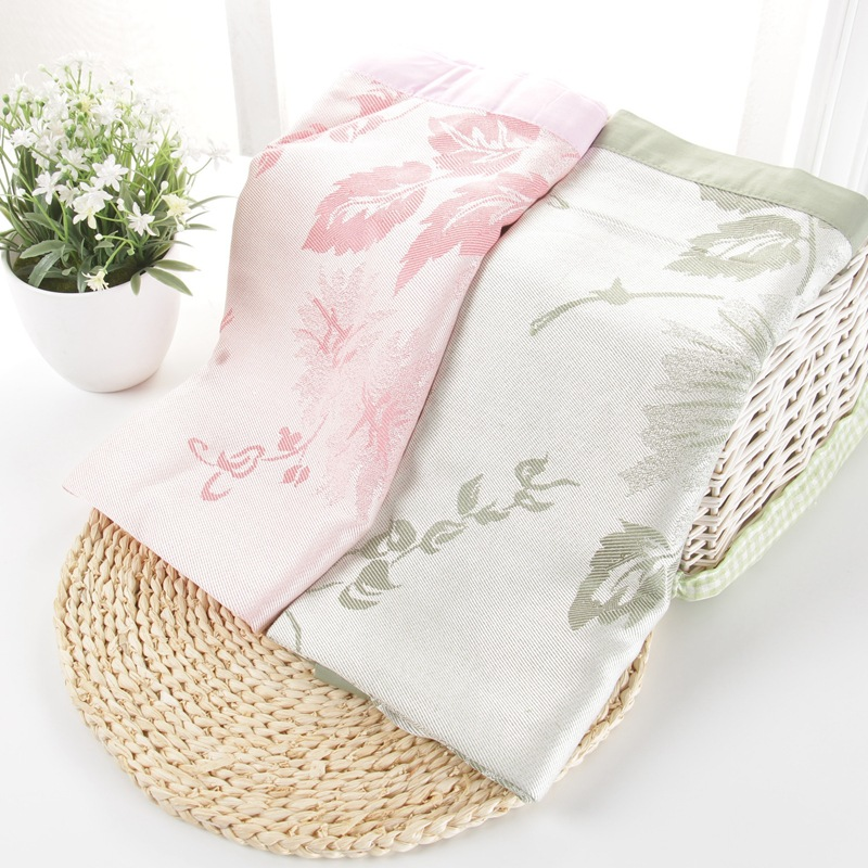 High Quality Bamboo Baby Blanket Newborn Bamboo Swaddle Blankets for Baby 120cmX70cm Soft Summer Flower Print Crib Mat(China (Mainland))