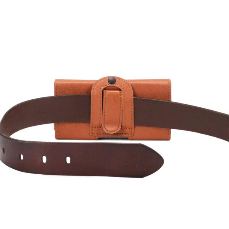Belt Clip PU Leather Waist Holder Flip Cover Pouch Case for Donod D801/D805/D802/D906/D908/DN95 2.4 Inch(China (Mainland))