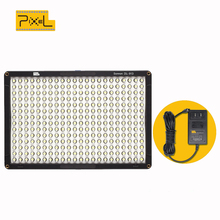 PIXEL DL-918 Photo Studio Lighting Lamp+Professional Adapter for Canon Nikon Sony Camera Camcorder Led Video Photography Light