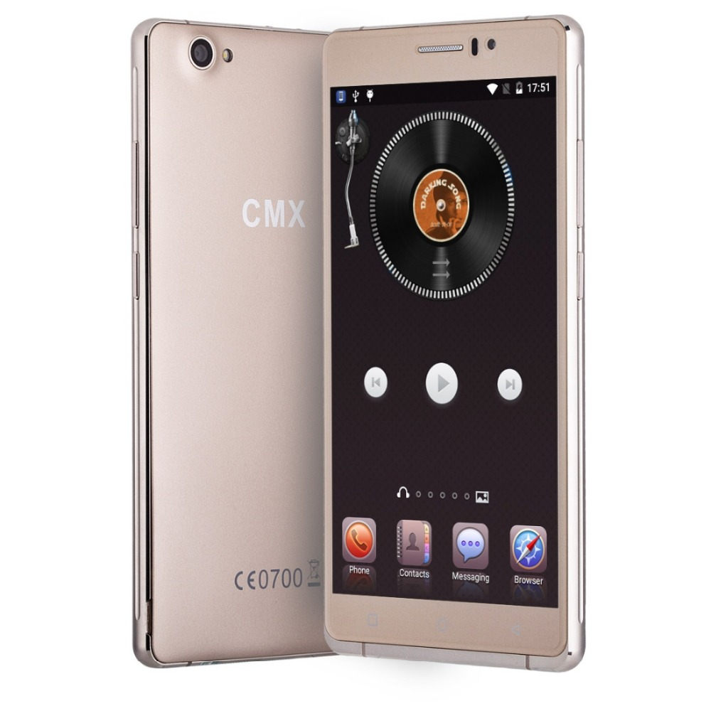 Brand Mobile Phone CMX C10 6.0 inch Android 5.1 MTK6580 Quad Core 1.3GHz ROM 8GB RAM 1GB 2500mAh GPS Dual SIM WCDMA GSM(China (Mainland))