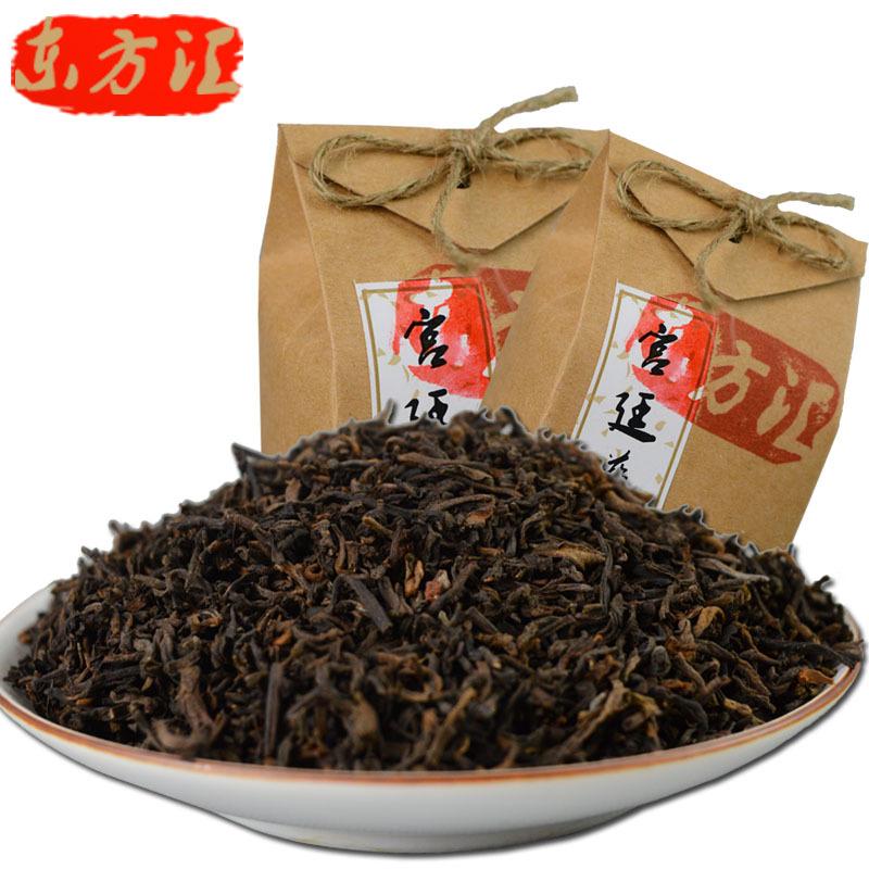 Promotion AAAAAA grade Chinese palace pu er shu tea yunnan menghai ripe Pu er loose tea