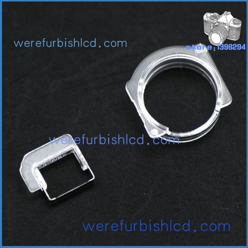 High Quality Mobile phone Front Camera Plastic Cap Seal Bracket Ring for Iphone 5 5g Free Shipping