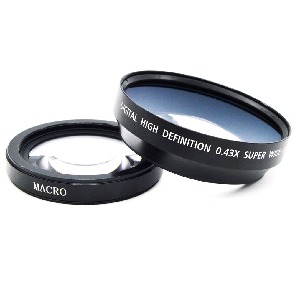 72MM 0.43x Super Wide Angle Lens with Macro Lens High definition digital lens for Canon Nikon Sony Penta(China (Mainland))